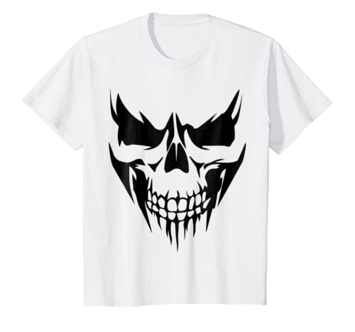 Amazon.com: SKULL DARK DEMON DEMONIO INFERNAL REAL DEAD FACE TEE-SHIRT: Clothing