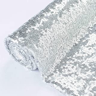 100/% Polyester fabric Mesh Sequin Multiple Remnants fabric silver Embellishments Fabric Cut off Fabric Fashion Fabric Clothing