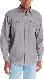 Authentics Men's Long Sleeve Classic Woven Shirt