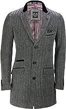 tweed overcoat velvet collar