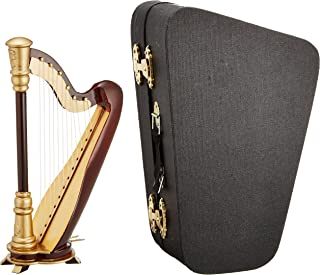 SUNRISE SOUND HOUSE サンライズサウンドハウス ミニチュア楽器 ハープ 15cm