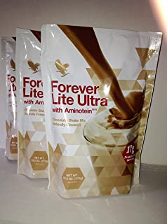 Forever Lite Ultra® with Aminotein®-Chocolate (PACK OF THREE)