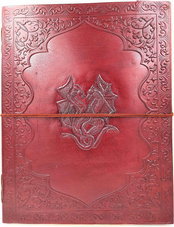 Kooly Zen – Tagebuch, Tagebuch, Tagebuch, Buch, Album, Gästebuch, Notizblock, Zeichen- oder Skizzenbuch, Scrapbook, Riegel, Echtleder, Doppeldraht, 25 cm x 33 cm, Premium Papier B07L2HWXYY    Qualitativ Hochwertiges Produkt  8a07f8