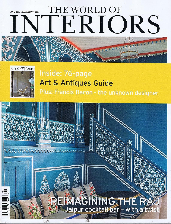 セージお酒甘美なThe World of Interiors [UK] June 2016 (単号)