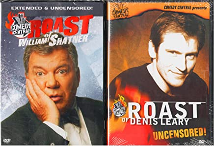 Comedy Central Roast of William Shatner , Comedy Central Roast of Denis Leary : Unrated Editions - 2 Pack Gift Set