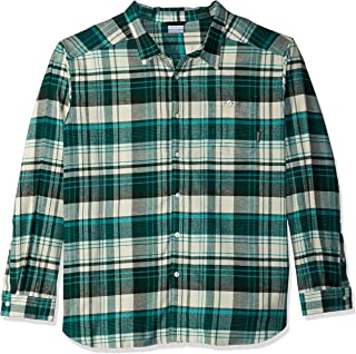 Columbia Men's Cornell Woods Big and Tall Flannel Long Sleeve,