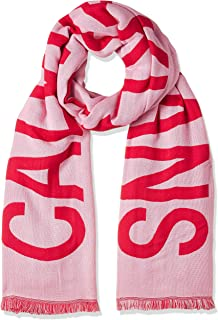 Calvin Klein Jeans Women's J 100x200CM SUPPORTER SCARF Scarves, Pink (Prism Pink TFK), One Size