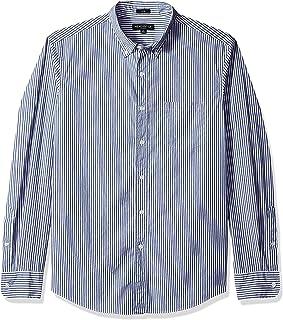 J.Crew Mercantile Men's Slim-fit Long-Sleeve Striped Shirt