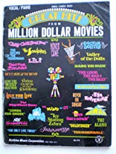 Vocal / Piano Words.Chords.Music GREAT HITS From MILLION DOLLAR MOVIES