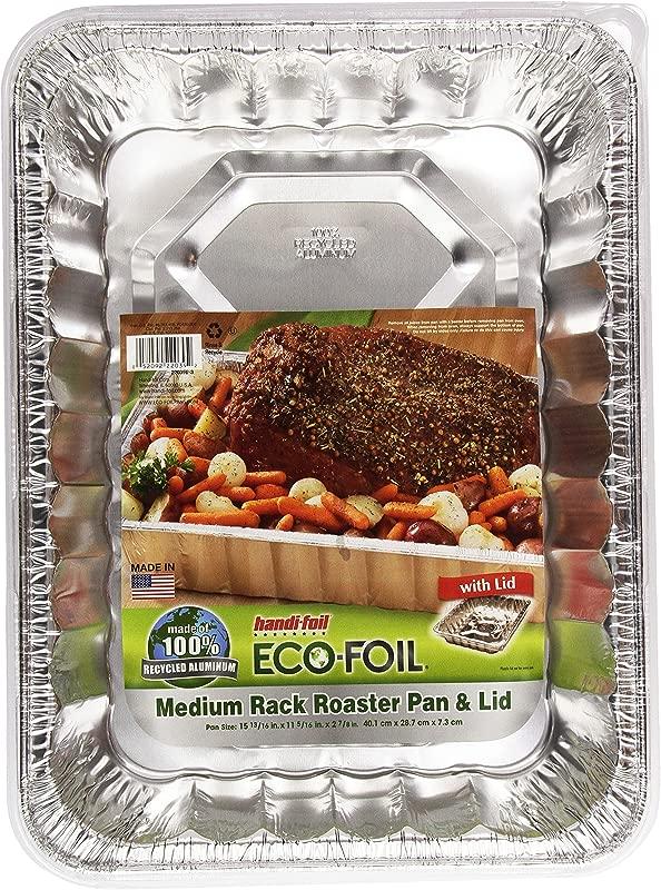 Handi Foil Cook N Carry Medium Roaster W Lid