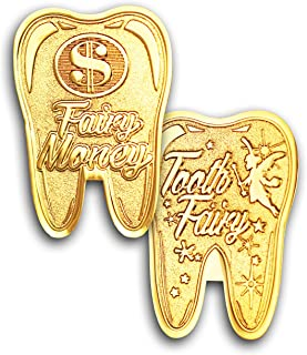 Tooth Fairy Money Novelty Coin - Tooth Fairy Gift Coin!