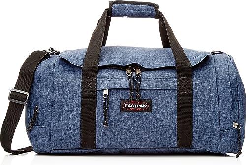 Eastpak Reader S + Sac de Voyage, 53 cm, 40 L, Bleu (Triple Denim)