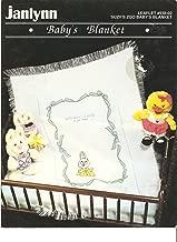 Baby's Blanket - Cross Stitch Pattern- Janlynn- Leaflet #938-02