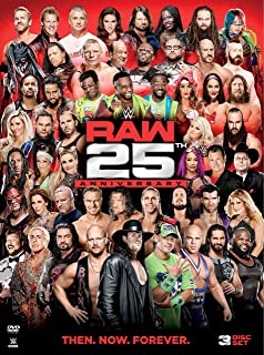 WWE: Raw 25th Anniversary (DVD)