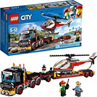 Lego City Heavy Cargo Transport 60183 Toy Truck Building Kit with Trailer, Toy Helicopter and...
