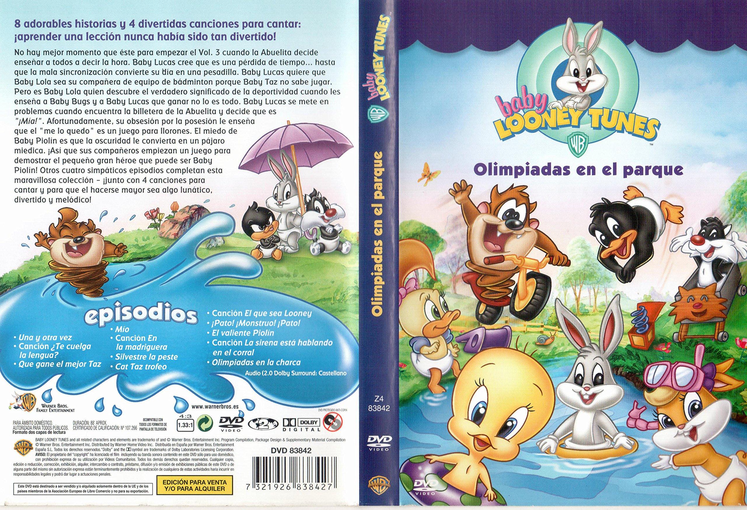Baby Looney Tunes: Olimpiadas en el parque [DVD]: Amazon.es: Cine ...