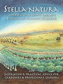 2018 Stella Natura Biodynamic Planting Calendar