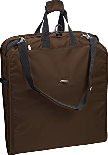 Wally Bags 42 Inch Shoulder Strap Garment Bag, Brown (Brown) - 1810