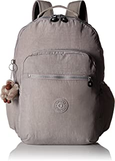 Kipling Seoul Go Laptop Backpack, Padded, Adjustable Backpack Straps, Zip Closure Laptop Backpack
