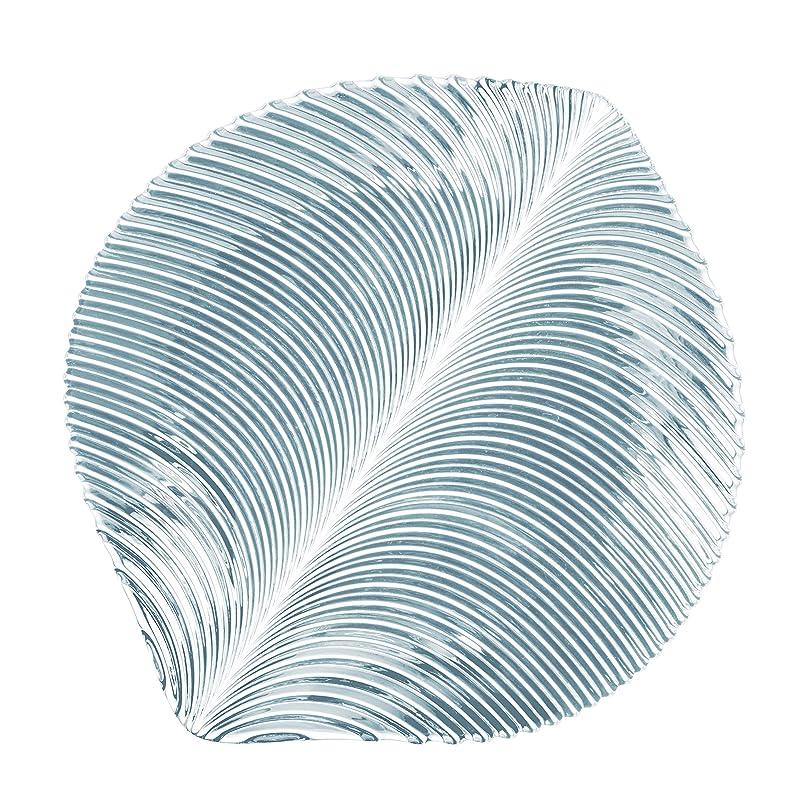 狂気リマ海洋ナハトマン(Nachtmann) 中皿 クリア 直径32cm マンボ チャージャープレート 98034 2個入