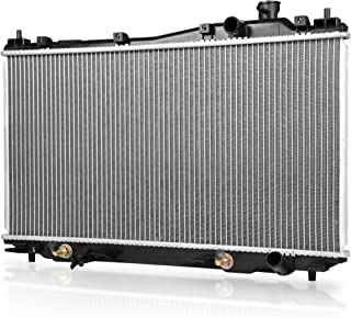 Complete Radiator for 2001 2002 2003 2004 2005 Honda Civic, 2001-2005 Acura EL L4 1.7L (Replacement Fits All 4 Speed Automatic Models & Specific for 2005 Civic with 5 Speed Manual) DWRD0003