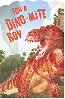 American Greetings Pop Up Birthday Card for Boy (Dino-mite)