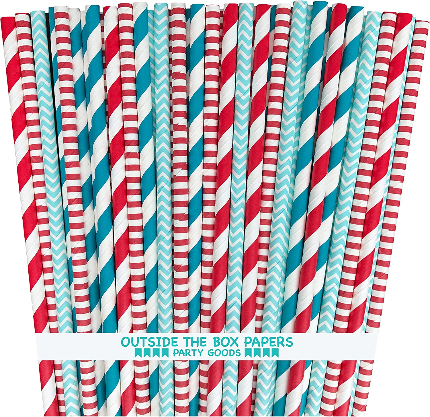 Outside the Box Papers Dr Seuss Theme Pape Striped Polka Free Shipping Cheap Bargain Gift and Sale Dot