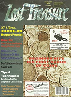 Lost Treasure Magazine January 2001 State Treasure Tales: South Carolina New Mexico Tennessee, Tips & Techniques, The Ives Brothers Missing Cache and More