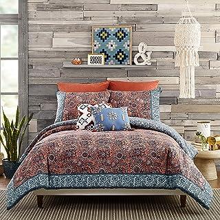 Jessica Simpson Antara Comforter Set, Twin/Twin XL, Red, Blue