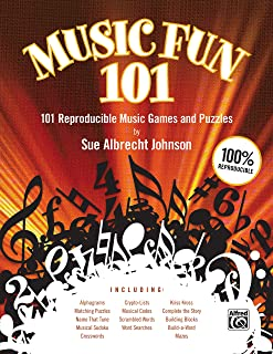 Music Fun 101: 101 Reproducible Music Games and Puzzles