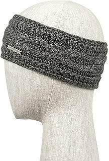 CATANIA Headband Handmade Knit 100% BABY ALPACA (Oxford Grey)