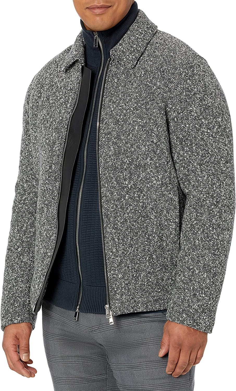 Theory Mens,Boucle Speckled Bomber,Ricky