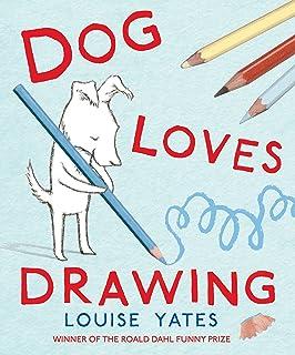 Dog Loves Drawing