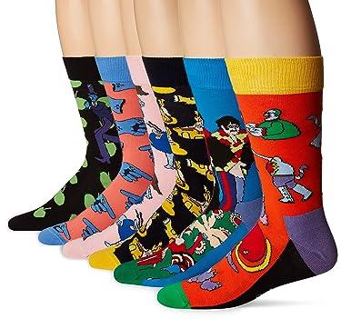 Happy Socks Women's Beatles LP Collector's Box 6-Pack