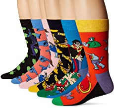 Happy Socks Womens Beatles LP Collector's Box 6-Pack