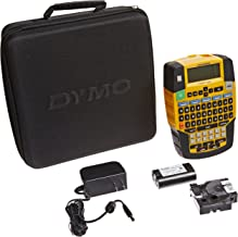 DYMO Rhino 4200 Industrial Label Maker Carry Case Kit with Roll of 1/2 All-Purpose Vinyl Labels, Black on White (1835374)