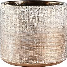 Rivet Rustic Textured Stoneware Indoor Planter Pot, 5