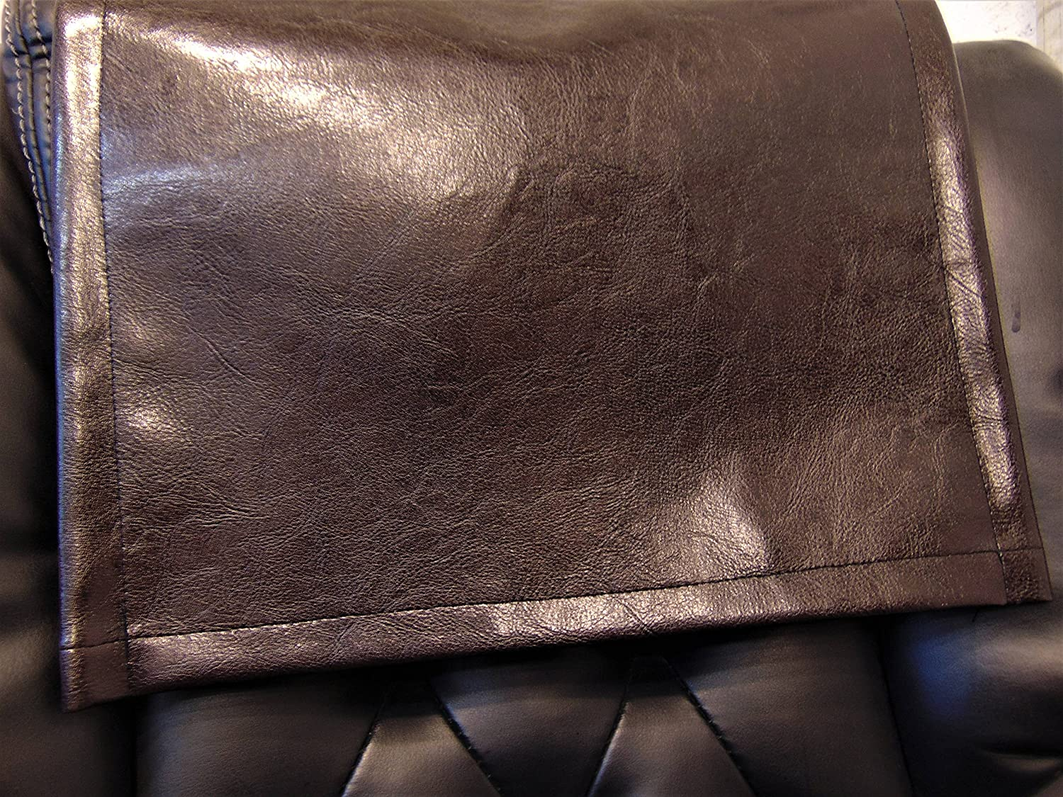 LUVFABRICS 24 5 ☆ popular Omaha Mall by 30 Inch Chocolate Faux Houston Vi Brown Leather