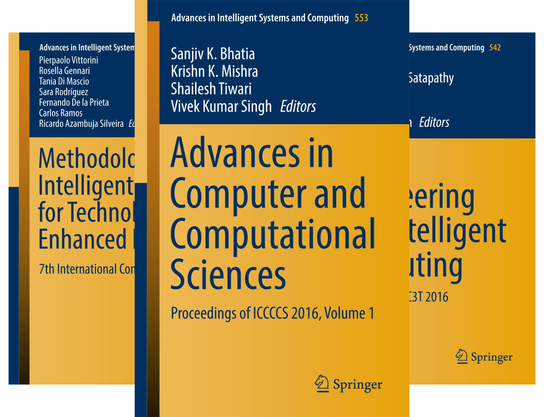Advances in Intelligent Systems and Computing (151-200) (50 Book Series)