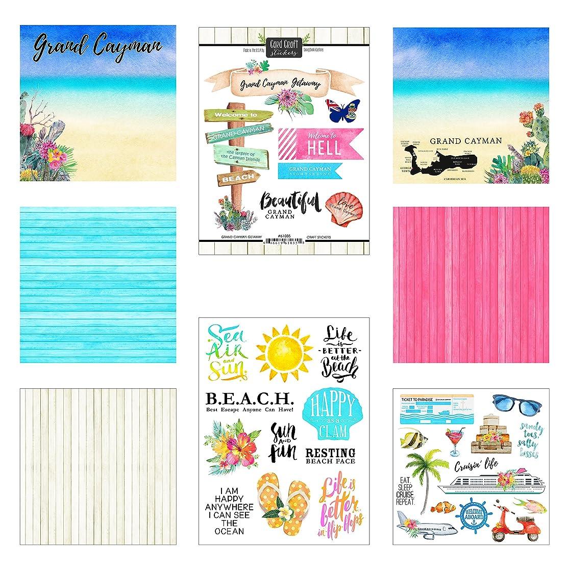 Scrapbook Customs Grand Cayman Getaway Scrapbook Kit