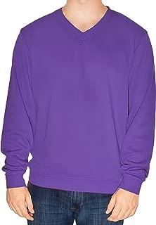 Cutter & Buck Men's 100% Cotton V-Neck Long Sleeve Sweater