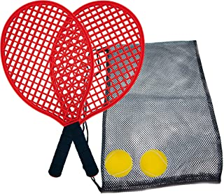Schildkröt Funsports Unisex's Beach Tennis Set, Multi-Colour, Small