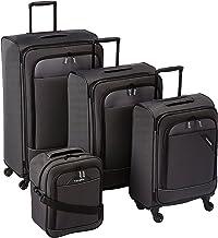 Travelite Derby Rollkoffer, klassisch, robuster und leichter Weichgepäck Trolley mit 4..