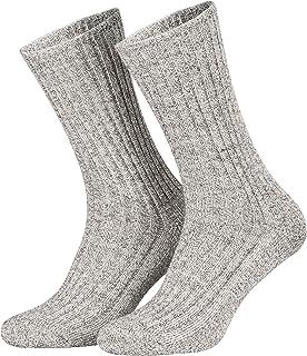 Piarini, Calcetines noruegos suaves - Para trabajo - Suela acolchada con tela de rizo - Tallas grandes hasta la 50
