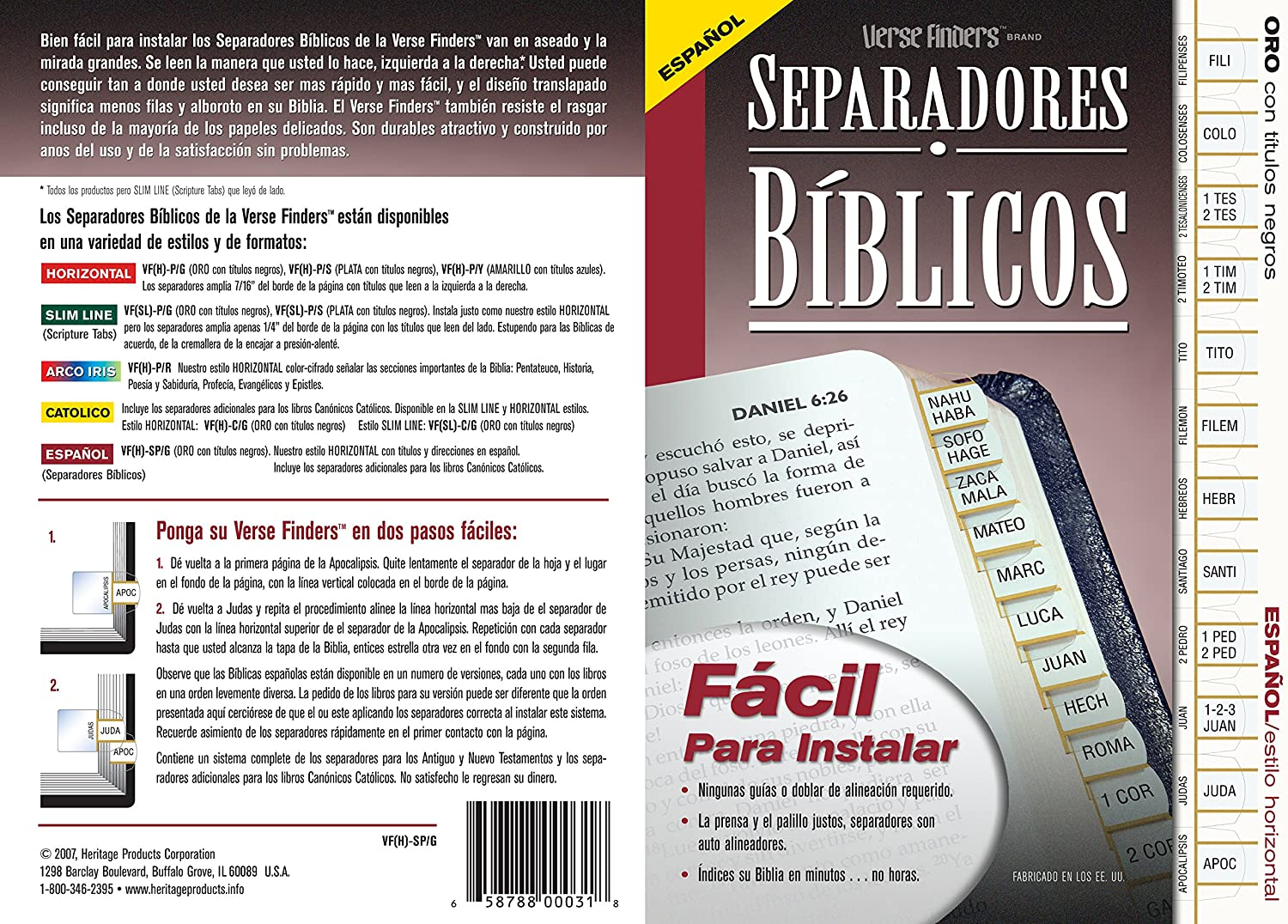 1 X Separadores Espanol Don't miss the campaign Biblicos Year-end gift