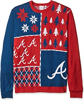atlanta braves christmas sweater