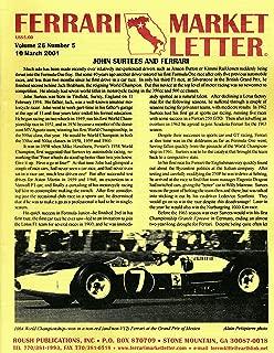 Ferrari Market Letter - John Surtees and Ferrari (2001 Pamphlet)