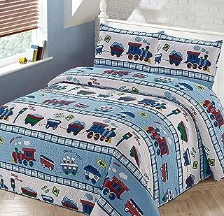 Best train comforter set twin Reviews