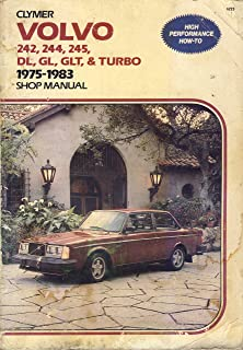 Volvo 240 Series 1976-1988 Gas Models Shop Manual/A223