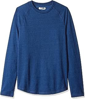 Amazon Brand - Goodthreads Men's Long-Sleeve Indigo Raglan T-Shirt